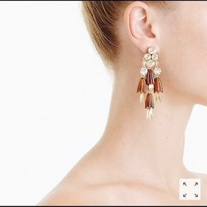 J crew dahlia earrings